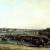 Bernardo Bellotto, Dresda dalla riva sinistra dalla parte dei bastioni