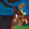 Carmelo Zotti (1933 – 2007) Figura + Monumento, 1972