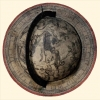 Catt 56.  Celestial globe - Milan 1615