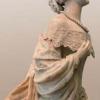 Polena dell'I.R. piroscafo Elisabeth Kaiserin raffigurante Sissi moglie di Francesco Giuseppe