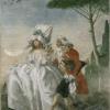 Giandomenico Tiepolo (1727 - 1804) Minuetto in villa (1791 - 1793)