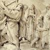 Giandomenico Tiepolo (1727 - 1804) Mosè spezza le tavole della Legge (1788)
