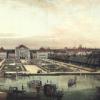 Bernardo Bellotto, Nymphenburg dal parco