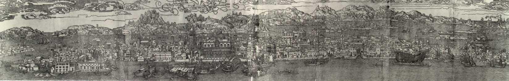 Civitas Veneciarum di Erhard Reuwich del 1486 da Marciana via Museo Correr