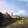 Bernardo Bellotto, Veduta di Torino con il Palazzo Reale