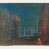 J.W.Turner, San Marco e la piazzetta, con San Giorgio maggiore di notte, 1840
