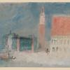 J.W.Turner, La piazzetta e il Palazzo Ducale dal bacino, 1840 ca.