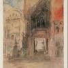 J.W.Turner, La porta della Carta, Palazzo Ducale, 1840 ca.