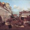 Bernardo Bellotto, La via Miodowa di Varsavia