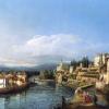 Bernardo Bellotto, Vaprio e Canonica verso Monasterolo