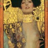 Gustav Klimt. Giuditta I (1901). Olio e foglia doro on canvas. Vienna, Belvedere.