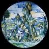 """Nicola da Urbino (Nicola di Gabriele Sbraghe) (not. 1520-1525) """"Servizio Correr"""", 1520 ca. Orfeo incanta gli animali suonando"""