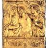 Venezia, ambito di Tullio Lombardo Cristo morto tra la Madonna e San Giovanni, fine secolo XV