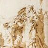 Giovanni Battista Tiepolo_Incontro di Antonio e Cleopatra_1740-1745_Collezione Woodner_La Poesia della Luce Disegni Veneziani dalla National Gallery of Art di Washington 6 dicembre 2014 - 15 marzo 2015 Museo Correr Venezia