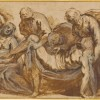 Jacopo Palma il Giovane Trasporto di Cristo al sepolcro 1607-1620