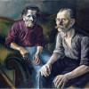 Otto Dix (1891-1969) Ritratto dei genitori/The Parents I, 1921 olio su tela/oil on canvas, cm 99 x 113 Kunstmuseum Basel © Otto Dix, by SIAE 2015 - Otto Dix Stiftung