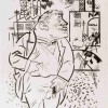 George Grosz The Boss, 1922 Fotolitografia, cm 57,6 x 42,6 Los Angeles County Museum of Art, the Robert Gore Rifkind Center for German Expressionist Studies © George Grosz, by SIAE 2015- Estate of George Grosz; Photo © Museum Associates/LACMA