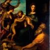 Andrea Schiavone Sacra Conversazione olio su tela, cm 86 x 68,5 Dresda, Gemäldegalerie Alte Meister, Staatliche Kunstammlungen