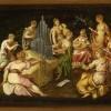 Jacopo Tintoretto Contesa fra le Muse e le Pieridi, 1545 – 1546 olio su tavola, cm 51 x 95,5 Verona, Museo di Castelvecchio © Archivio fotografico del Museo di Castelvecchio/ foto Umberto Tomba
