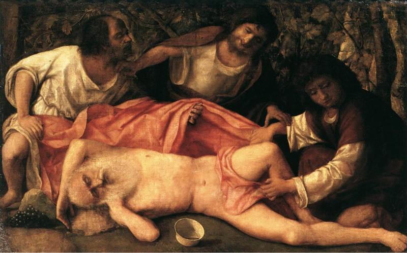 Giovanni Bellini - Ebbrezza di Noè_