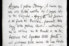 Autografo la Nave d'Annunzio,1908
