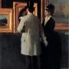 Giacomo Favretto, All'Esposizione (In pinacoteca)
