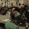 Giacomo Favretto, Al mercato. Mercato in campo San Polo