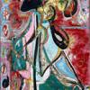 Jackson Pollock, The Moon Woman (1942)