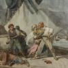 """Eugenio Bosa (1807 - 1875), """"Baruffe di chioggiotti"""""""