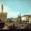 Bernardo Bellotto, Piazza della Signoria a Firenze