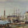 Ippolito Caffi (1809 - 1866), Veduta della Riva degli Schiavoni, verso Palazzo Ducale