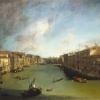 Antonio Canal detto il Canaletto (1697 - 1768) Il Canal Grande da Ca' Balbi verso Rialto (1720 - 1723)