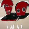Rosso seduto, 1997