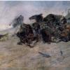 Giovanni Fattori, Scoppio di un cassone d'artiglieria, 1866