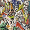 Jackson Pollock, Bird Effort (Accabonac Creek Series)(1946)
