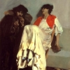 John Singer Sargent (1856 – 1925), The Sulphur Match, 1882