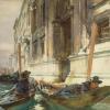 John Singer Sargent (1856 – 1925), Gondoliers' Siesta, 1904