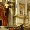 John Singer Sargent (1856 – 1925), Corner of the Church of San Stae, ca. 1913