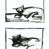 Franz Kline, Two Cats