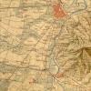 Corpo Reale dello Stato Maggiore Sardo Carta topografica degli Stati di terraferma di S.M. il Re di Sardegna, particolare