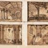 Tranquillo Orsi, Disegni scenografici