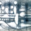 Richard Pousette-Dart, Descending Bird Forms (1950)