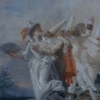 Giandomenico Tiepolo (1727 - 1804) Pulcinella innamorato (1797)