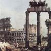 Bernardo Bellotto, Capriccio con il Colosseo
