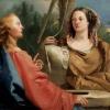 Giandomenico Tiepolo, Cristo e la Samaritana al pozzo