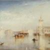 J.W.Turner, La Dogana, San Giorgio e le Zitelle dai gradini dell' Albergo Europa