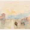 J.W.Turner, Il canale della Giudecca, guardando verso Fusina, al tramonto, 1840