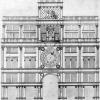 Rilievo ottocentesco facciata sud torre orologio