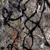 Jackson Pollock, Composition with black pouring (c. 1947)