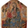 Attribuito a Bottega veneziana di Gentile da Fabriano: Gentile da Fabriano (1370 ca. – 1427) e collaboratori Madonna col Bambino in trono e angeli, 1408 ca. (?)